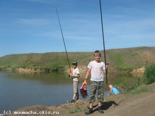 рыбалка в районе паруса
